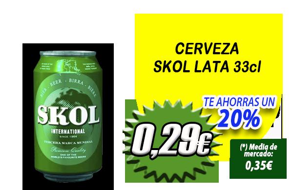 Slider CERVEZA SKOL LATA 33cl