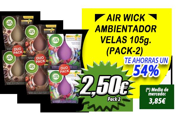 Patrón_Slider_Inicio AIR WICK VELAS
